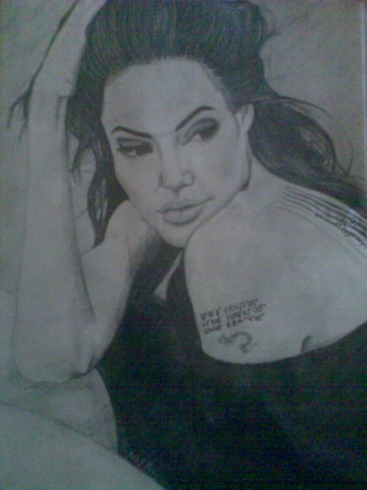 Angelina Jolie by Yaroslava